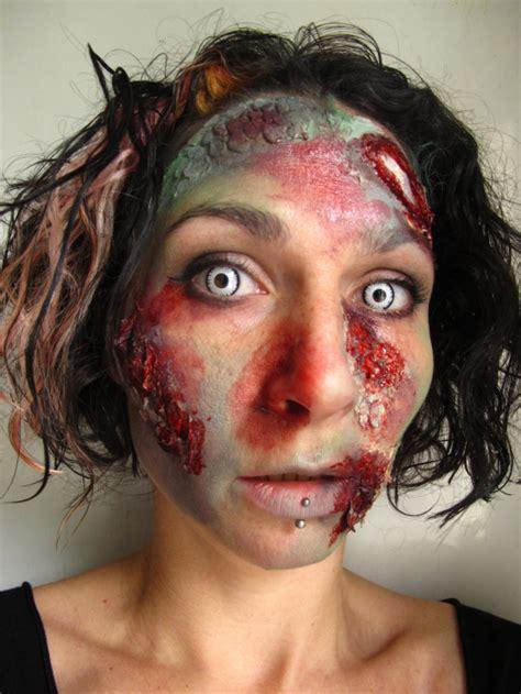 zombie painting tutorial zombie face paint tutorial coochie crunch