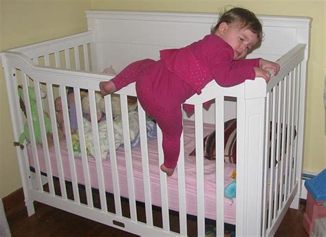 Keep Baby From Climbing Out Of Crib How To Keep Baby Babies Climbing Out Of Cribs