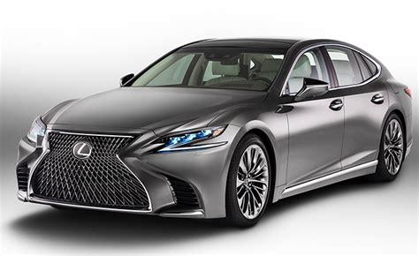 lexus hybrid sedan lexus revealing ls 500h hybrid sedan at geneva motor