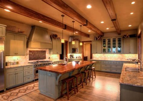 hill kitchen design rustic and inviting kitchens featuring exposed ceiling beams