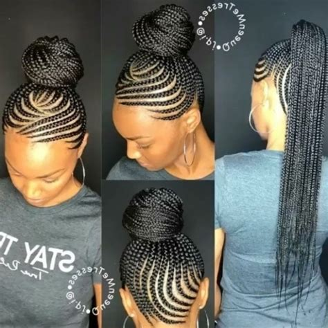 Ponytail Braid Hairstyles For Black Hair by Remarkable Braided Ponytail Hairstyles For Black Hair