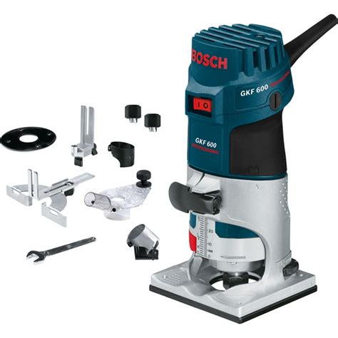 Router Bosch Gkf 600 bosch gkf 600 palm router laminate trimmer with accessory