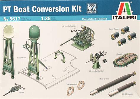 pt boat conversions italeri 5617 1 35 pt boat conversion kit first look