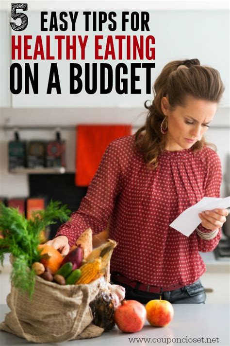 Cheap And Easy Tips For A Healthy And Happy by 5 Tips For Healthy On A Budget One