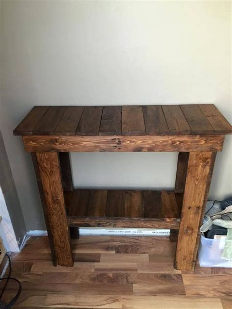 pallet sofa table ideas pallet ideas pallets and console tables on