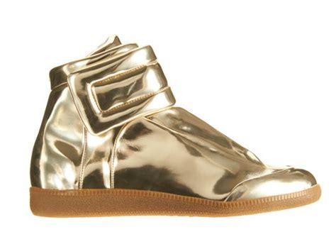 margiela sneakers gold maison martin margiela mirror sneakers sole collector