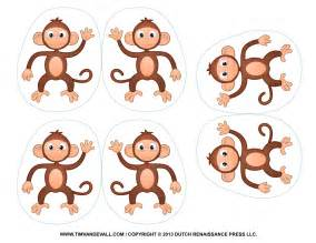 Monkeys Jumping On The Bed Game Printable Monkey Clipart Coloring Pages Cartoon Amp Crafts