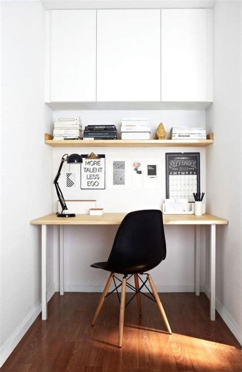 desk with cabinets above 29 creative home office wall storage ideas shelterness