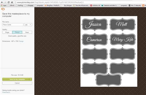 make place cards make your own printable place cards 4 real