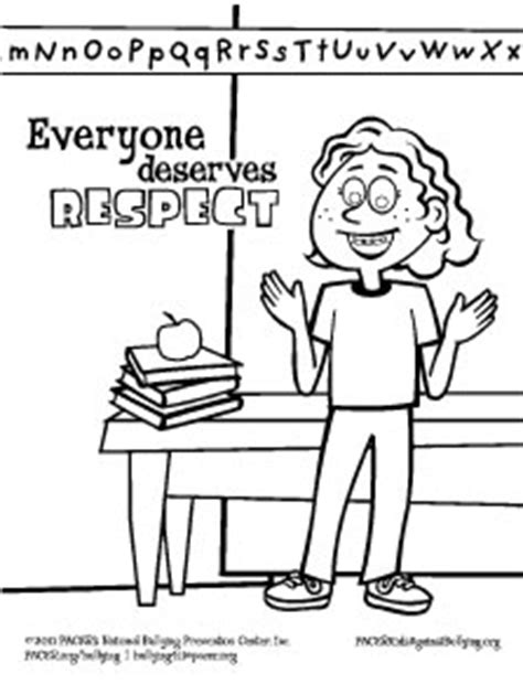 respect coloring pages image www aidecworld com