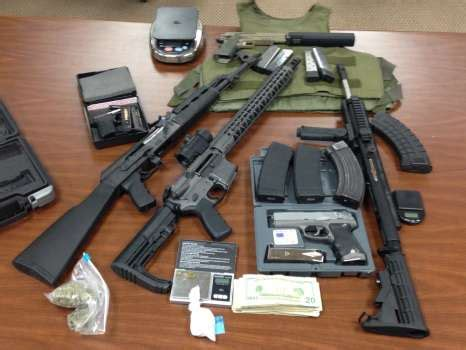 Porter County Warrant Search Cocaine Assault Style Weapons Found At East Side Home San Antonio Express News