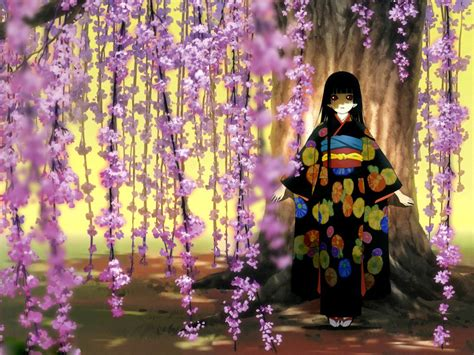 imagenes de paisajes japoneses anime 地狱少女精美动漫壁纸 明星娱乐图10 电脑之家pchome net