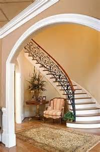 Old World Floor Plans Tuscan Staircase Amp Railings Artistic Stairs