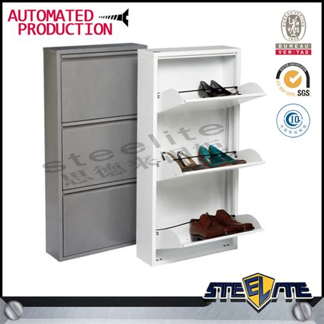 sliding door shoe cabinet steel shoes rack shoe cabinet shelf shoe storage cabinet