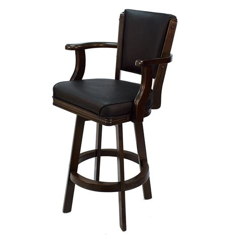 bar stools swivel with arms ram game room bstl2 swivel bar stool with arms lowe s canada