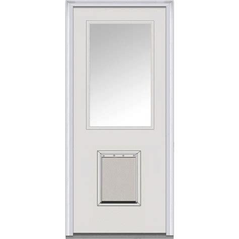 Milliken Doors by Milliken Millwork 37 5 In X 81 75 In Classic Clear Glass