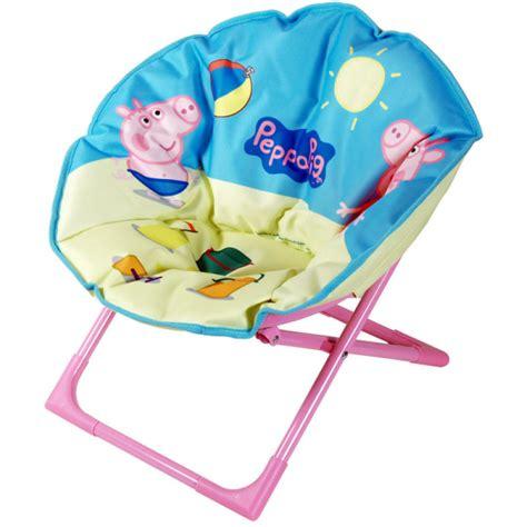 peppa pig chair peppa pig oval folding chair toys zavvi