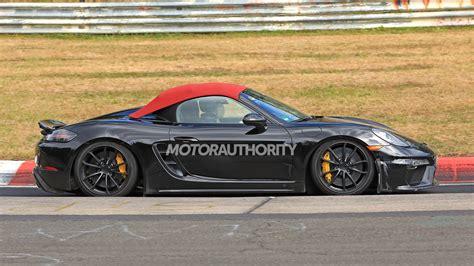 2020 The Porsche 718 by 2020 Porsche 718 Boxster Spyder And