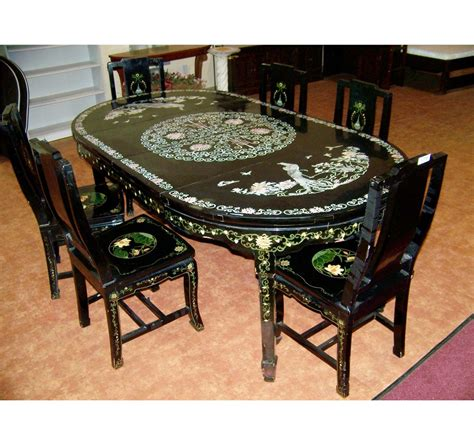 asian dining room table asian dining room sets alliancemv com