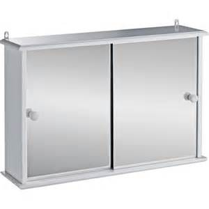 Bathroom Wall Cabinets Argos Buy Home Sliding Door Bathroom Cabinet White At Argos Co