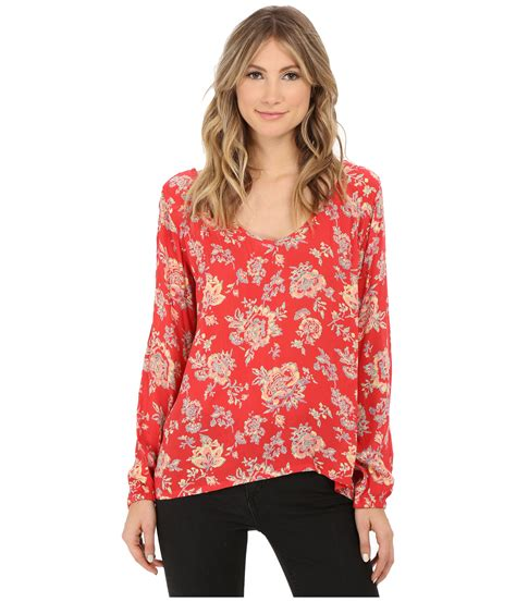 Sweater Billabong 12 Original billabong distant roads blouse in lyst