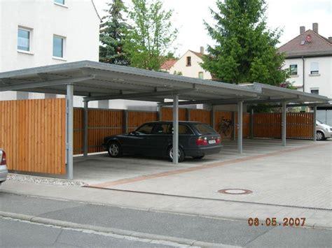 stahlbau carport carports u einhausungen metall und stahlbau lippmann gmbh