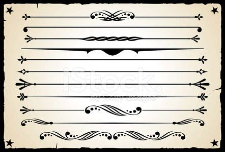 western design elements vector free western design elements page rules stock vectors 365psd com