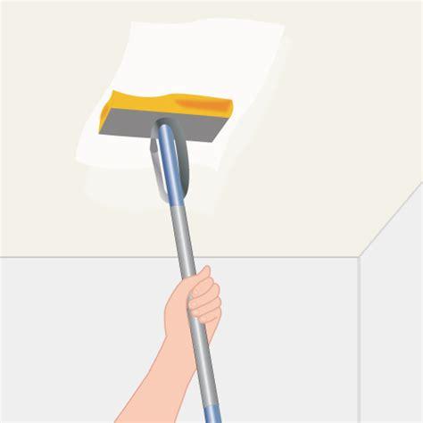 Lessiver Un Plafond Avec Un Nettoyeur Vapeur by Lessiver Un Plafond Avant Peinture Simple Etape Lessivage
