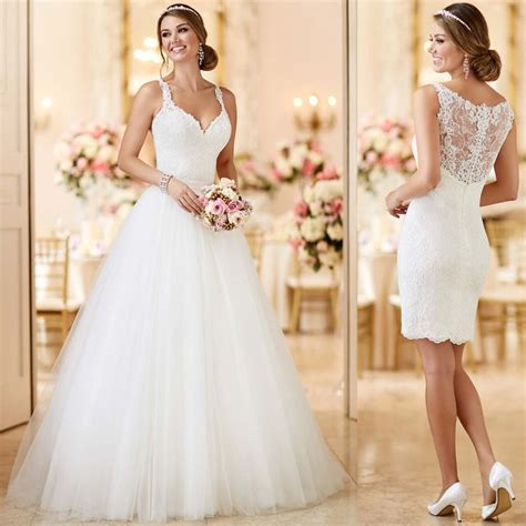 2 in 1 brautkleid 62 best 2 in 1 wedding dresses images on pinterest lace