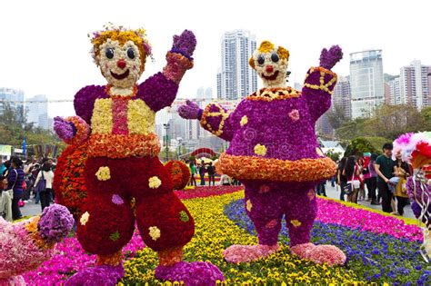 hong kong flower show  editorial stock image image