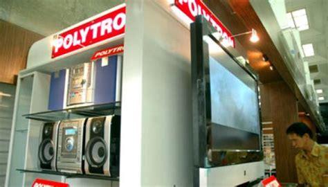 Tv Tabung Hartono audio jadi penopang penjualan polytron