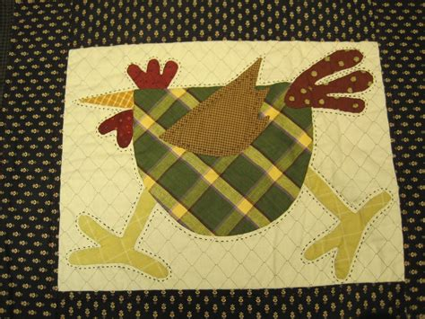 Chicken Quilt Patterns by Lazy Cottage Chicken