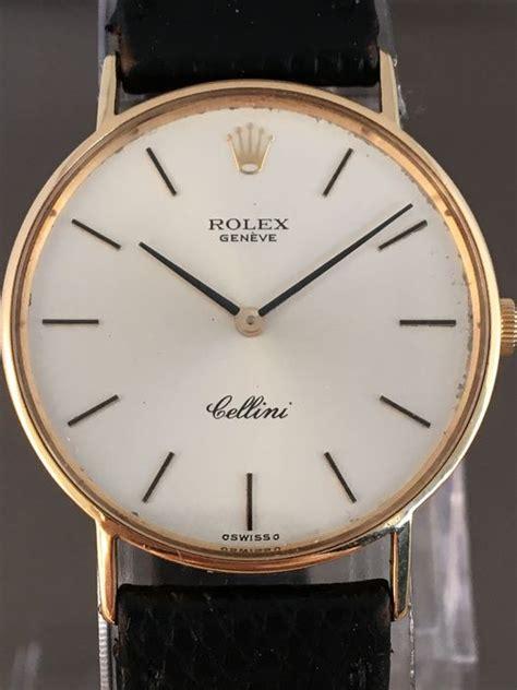 Jam Tangan Rolex Genuve Cellini 2 rolex cellini geneva gold s wristwatch around the