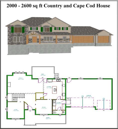 Ez House Plans 2600 Square Foot Ranch House Plans