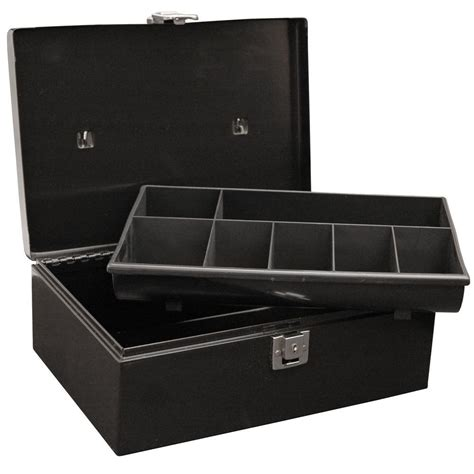 master lock locking box with 7 compartment tray 7113d