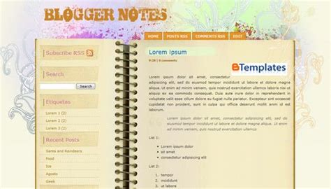 b templates notes template btemplates