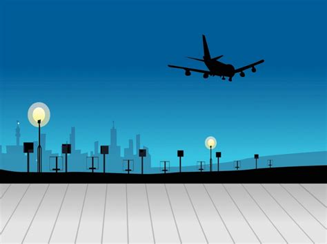 layout of airport ppt silver powerpoint templates free ppt backgrounds
