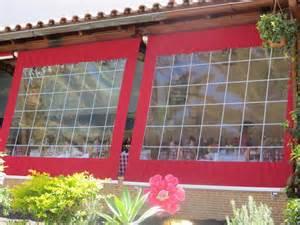 terrassen rollos durchsichtiges folienrollo f 252 r terrassen als