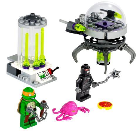 Lego Tmnt 79100 Kraang Lab Escape lego tmnt kraang lab escape byrnes