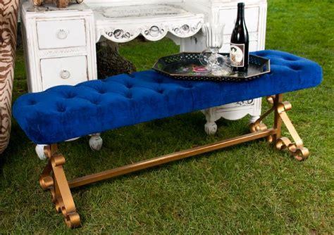 royal blue velvet bench 21 best images about vintage rentals in las vegas by