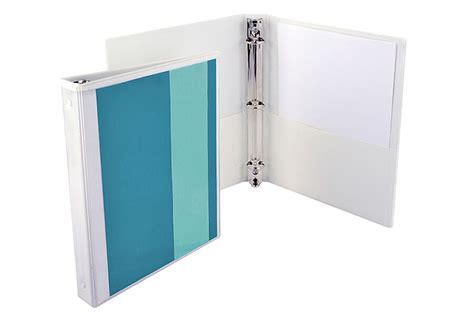 1 inch binder 3 ring binders in different colors packzen