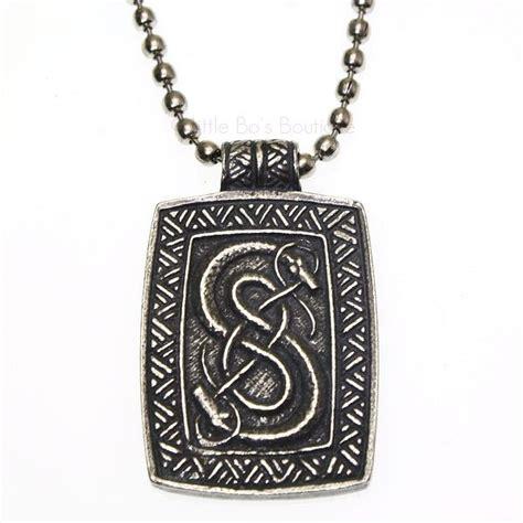 pewter pewter loki of urnes viking snakes carving pendant