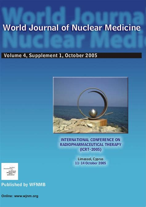 nuclear design journal world journal of nuclear medicine