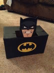 batman valentines day box boxes using superman and batman cricut