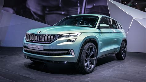 Skoda And Audi by Skoda Vision S Or Kodiak If You Believe The Rumours Audi