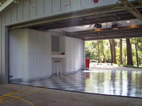 drive through garage garage