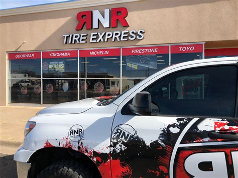 rnr tire express covers  territory   mexico apro