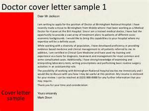 Doctor Cover Letter Sle by Exles Of Coverletters Doctor Cover Letter