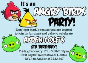 birthday invitations angry bird invitations templates ideas invitations template cards