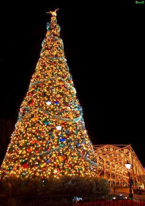 human christmas tree epcot epcot tree obsolete technology team disney orlando cheap flickr